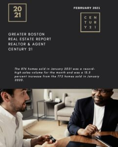 Download the January 2021 report from the greater Boston association of realtors